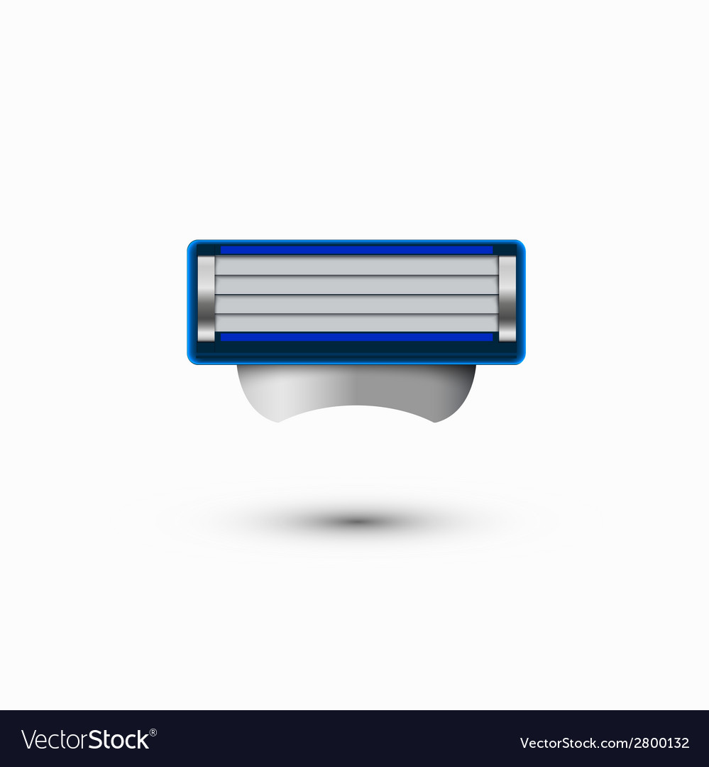 Modern razor icon on white background vector | Price: 1 Credit (USD $1)