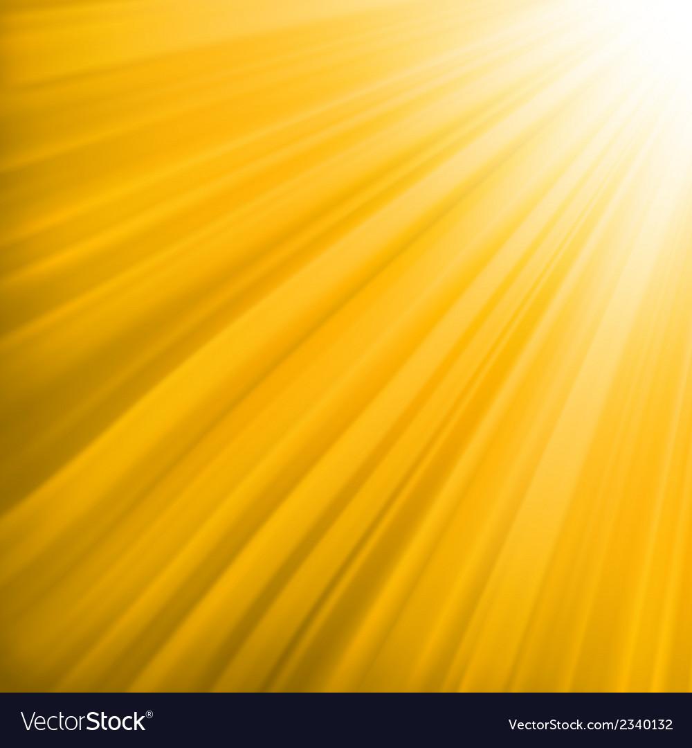 Orange luminous rays eps 8 vector | Price: 1 Credit (USD $1)