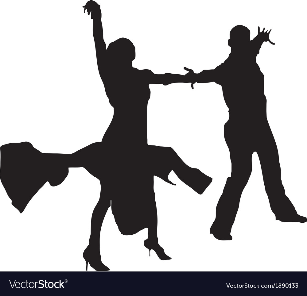 Dancers vector | Price: 1 Credit (USD $1)