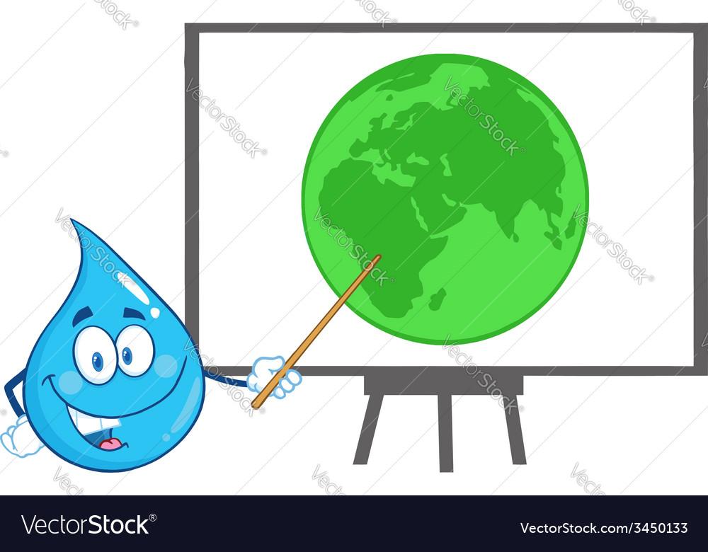 Waterdrop cartoon vector   Price: 1 Credit (USD $1)