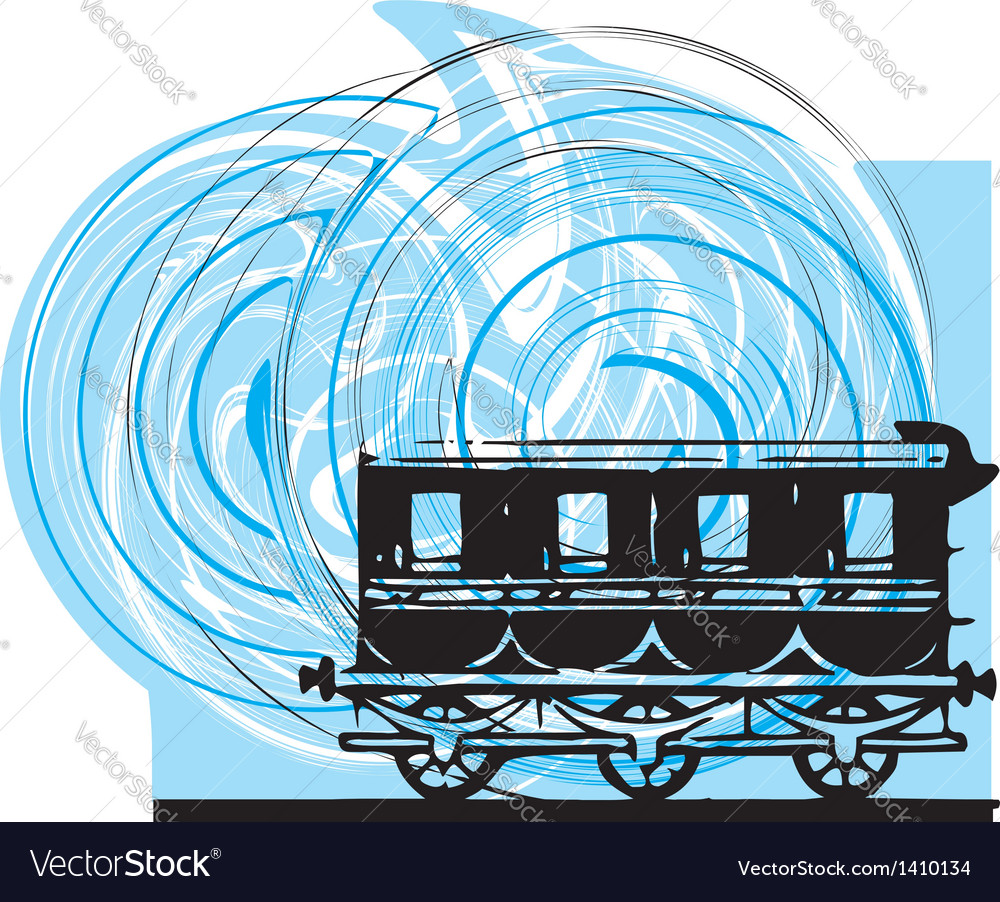 Abstract train vector | Price: 1 Credit (USD $1)