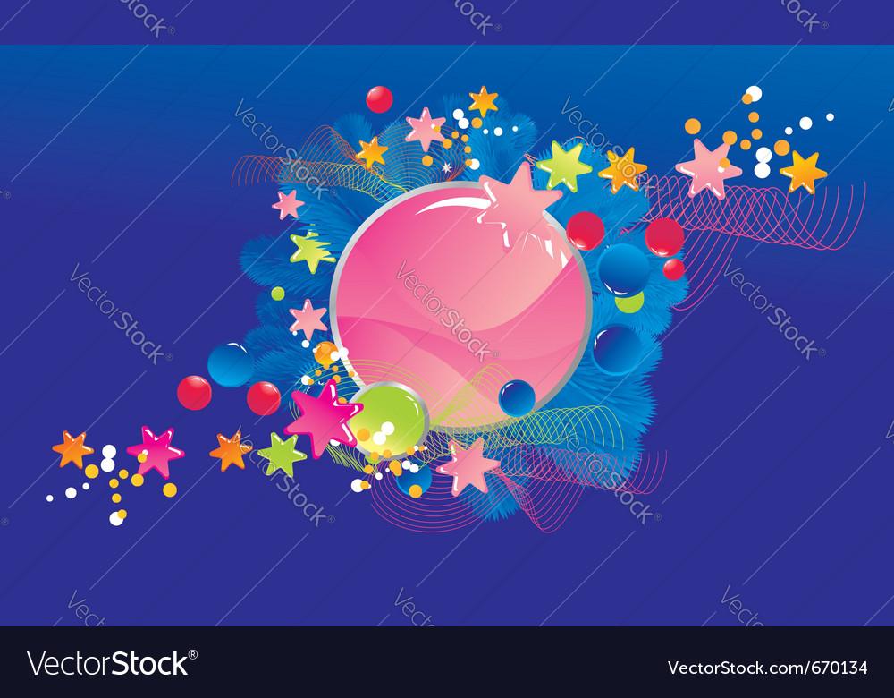 Celebratory colour vector | Price: 1 Credit (USD $1)