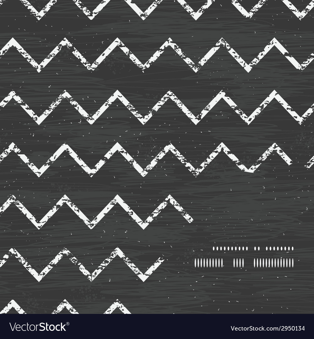 Chalk chevron blackboard frame corner pattern vector   Price: 1 Credit (USD $1)