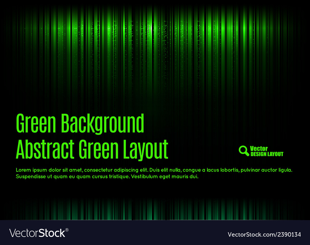 Green template vector | Price: 1 Credit (USD $1)