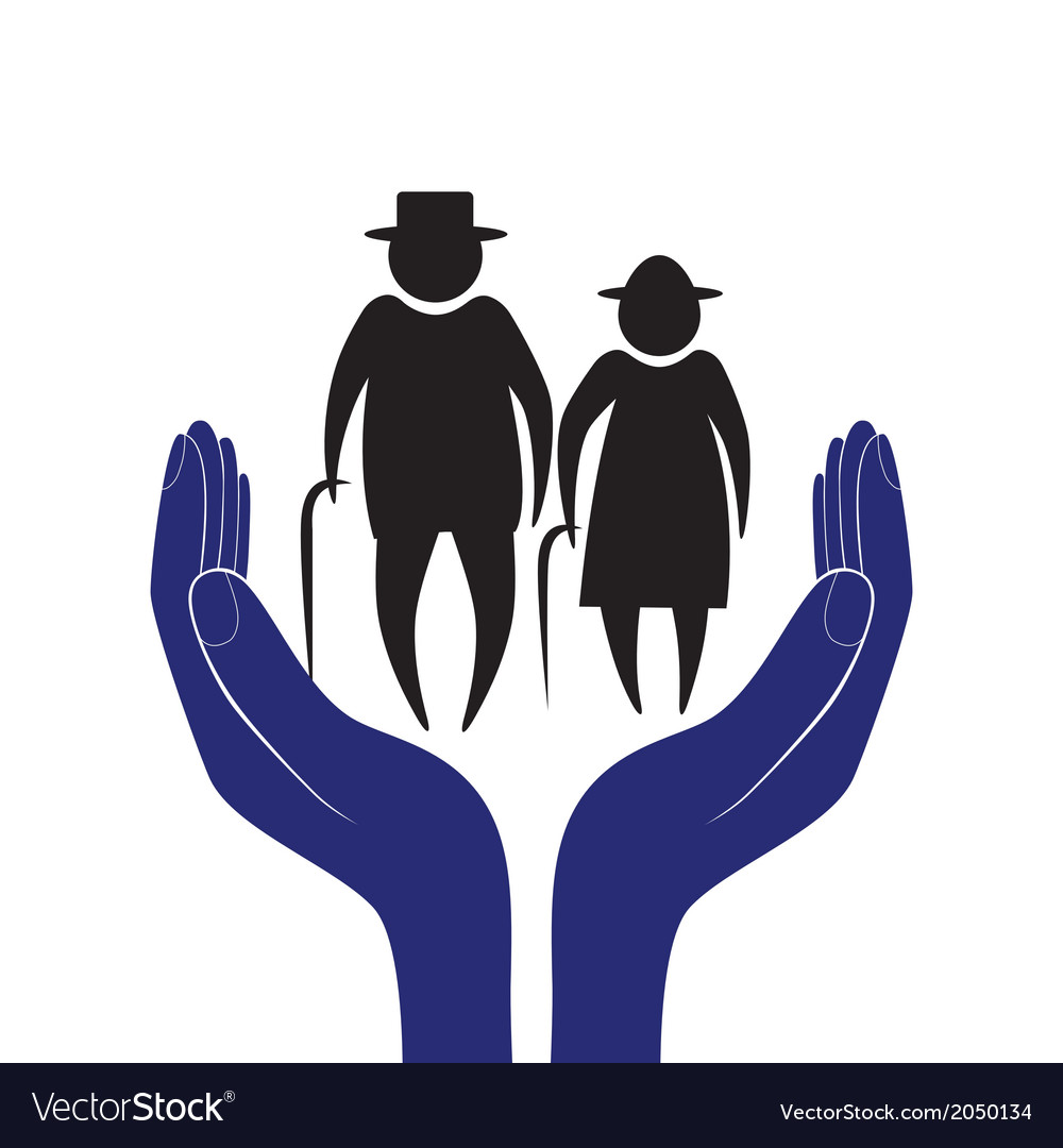 Hand in people encouragement help support moral vector | Price: 1 Credit (USD $1)