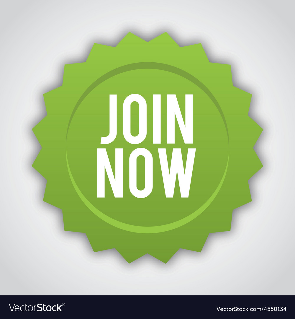 Join now vector | Price: 1 Credit (USD $1)