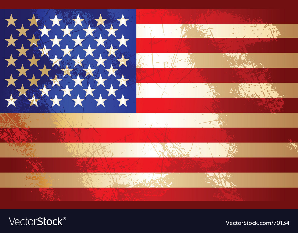 Usa flag vector | Price: 1 Credit (USD $1)