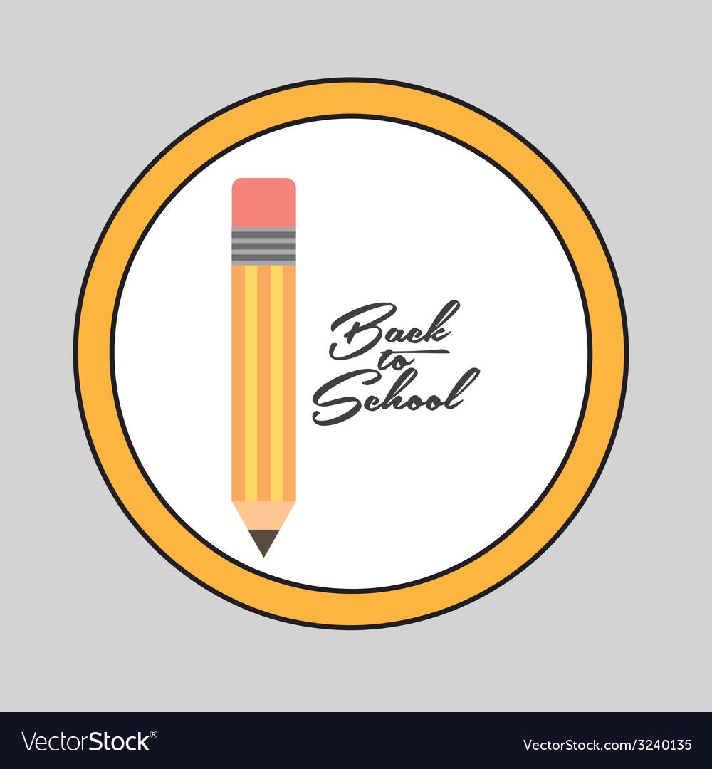 Backto school design vector | Price: 1 Credit (USD $1)