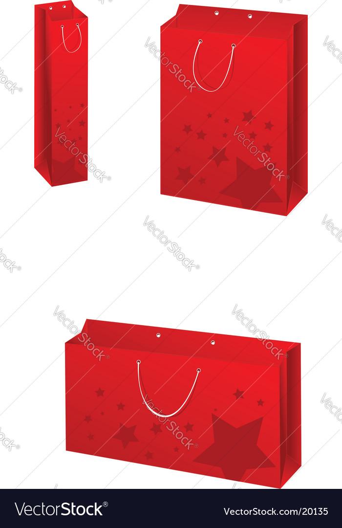Paper bags set vector | Price: 1 Credit (USD $1)