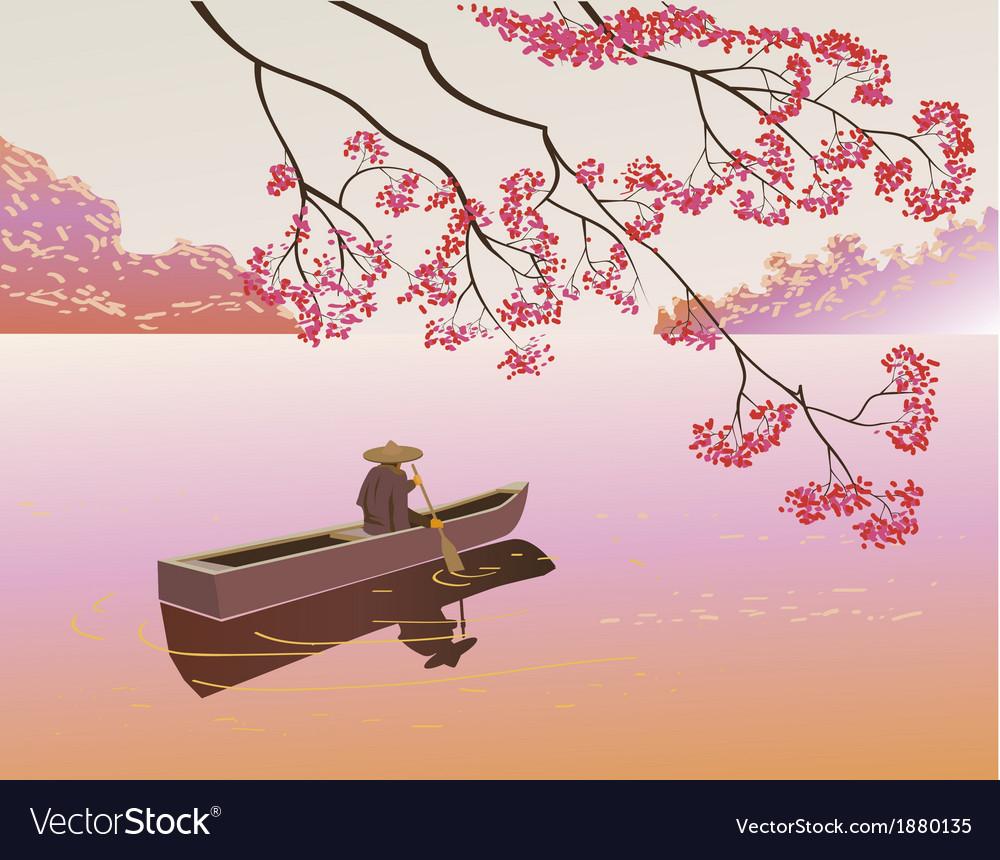 Sakura tea ceremony menu vector   Price: 1 Credit (USD $1)