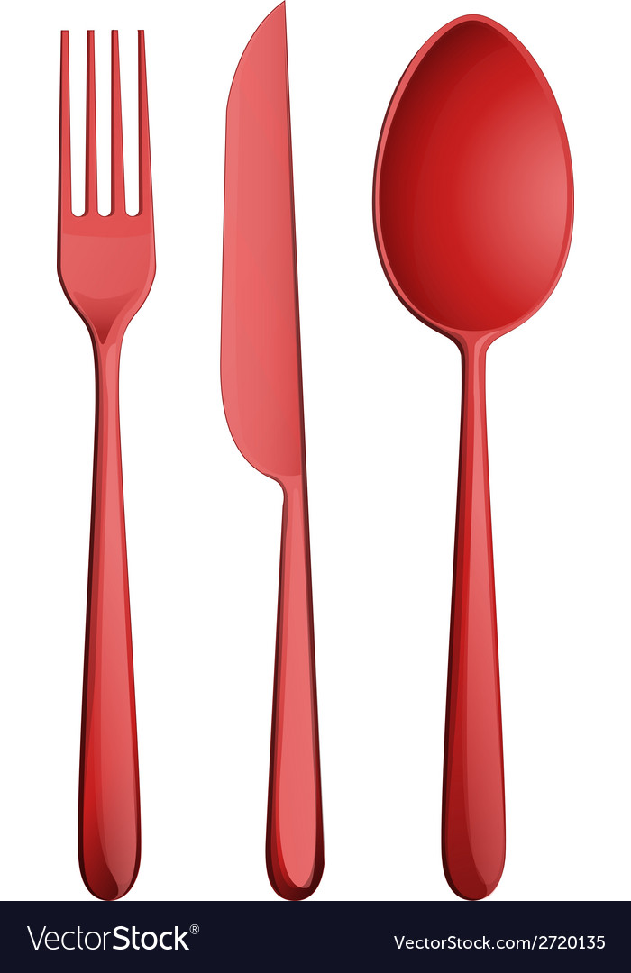 Three kitchen utensils vector | Price: 1 Credit (USD $1)