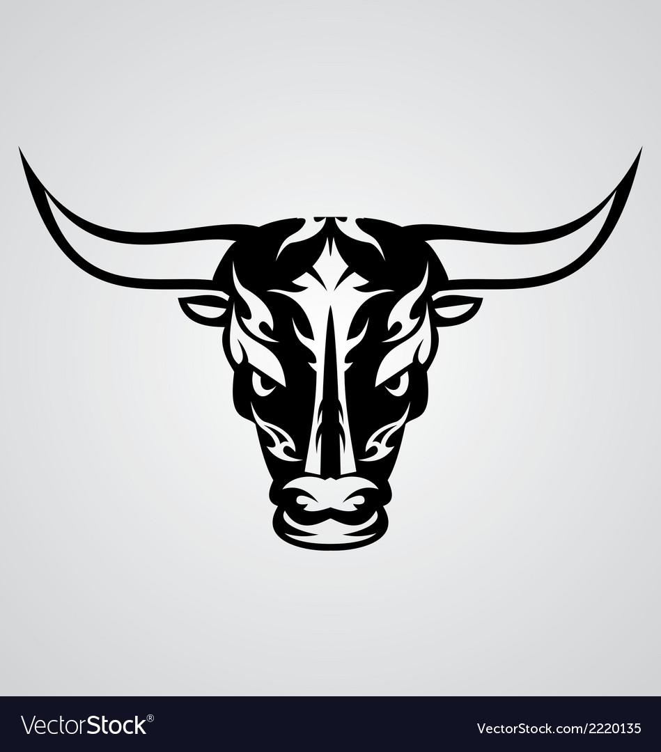 Tribal bulls vector | Price: 1 Credit (USD $1)
