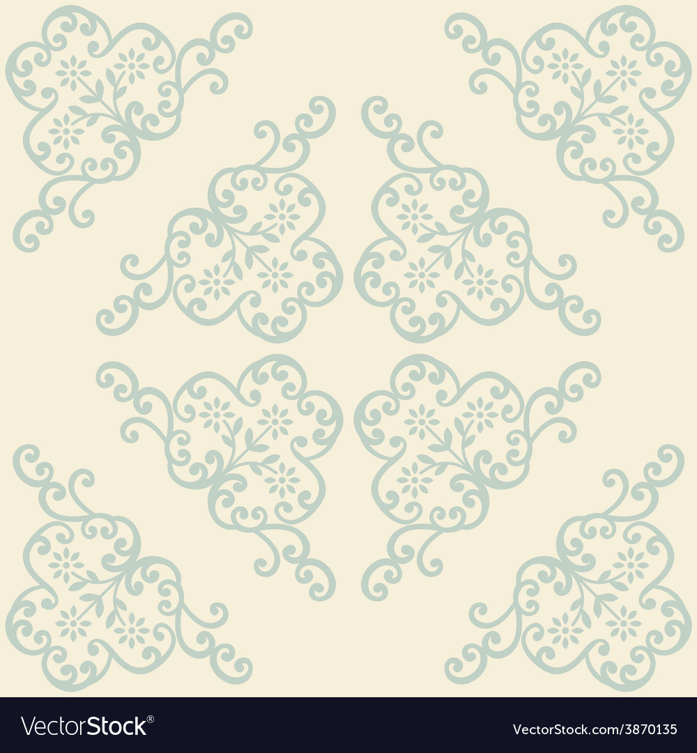 Vintage background royal ornament vector | Price: 1 Credit (USD $1)
