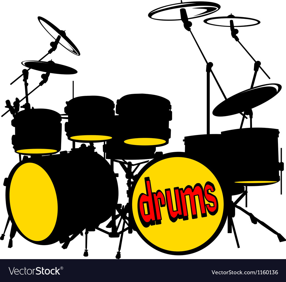 Drumkit vector | Price: 1 Credit (USD $1)
