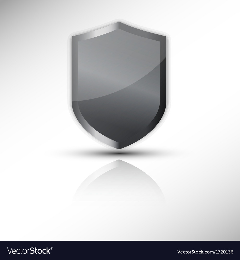 Protection shield icon vector | Price: 1 Credit (USD $1)