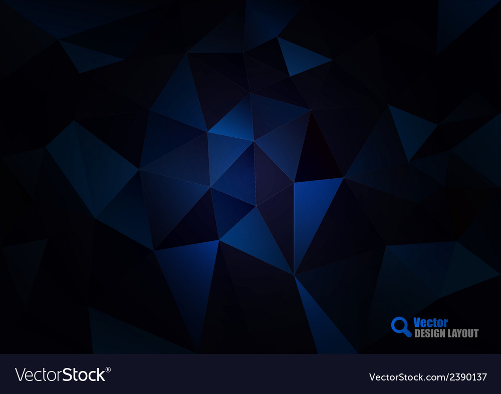 Dark blue triangles vector | Price: 1 Credit (USD $1)
