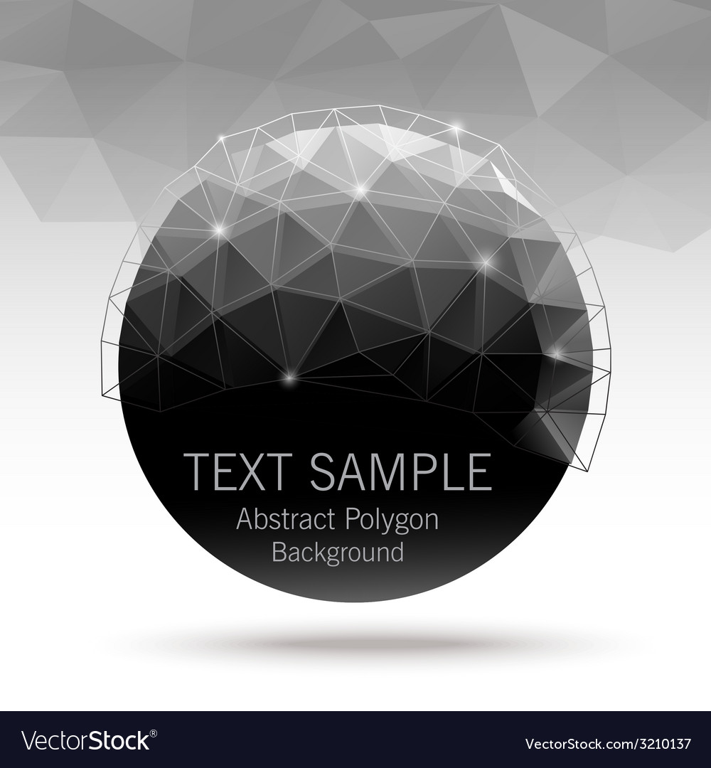 Polygonball vector | Price: 1 Credit (USD $1)