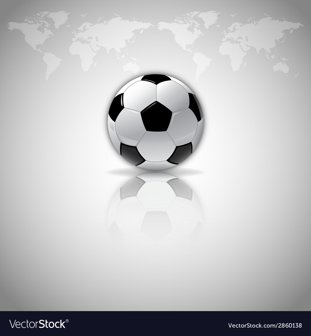 Football mirror vector | Price: 1 Credit (USD $1)