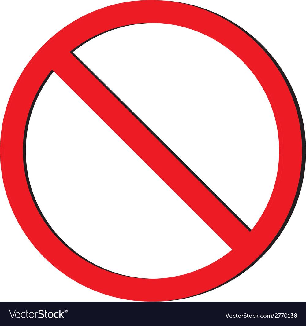 No sign vector | Price: 1 Credit (USD $1)