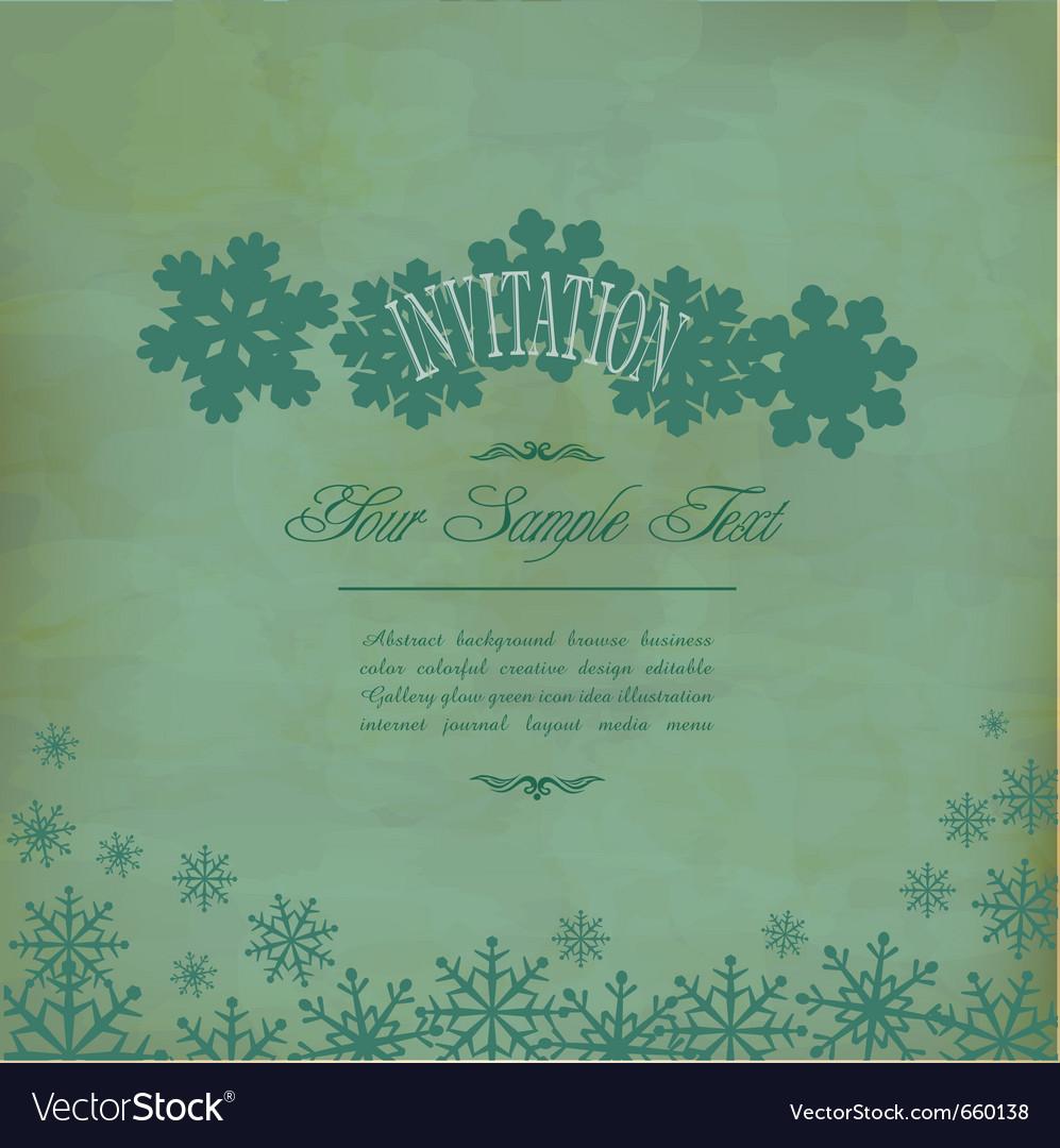 Vintage festive background vector | Price: 1 Credit (USD $1)