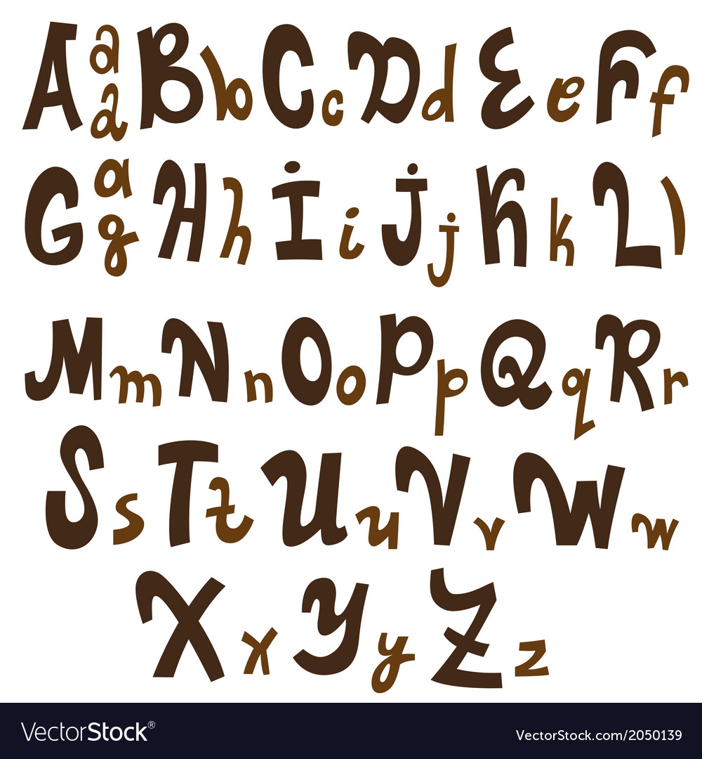 Alphabet - vector | Price: 1 Credit (USD $1)