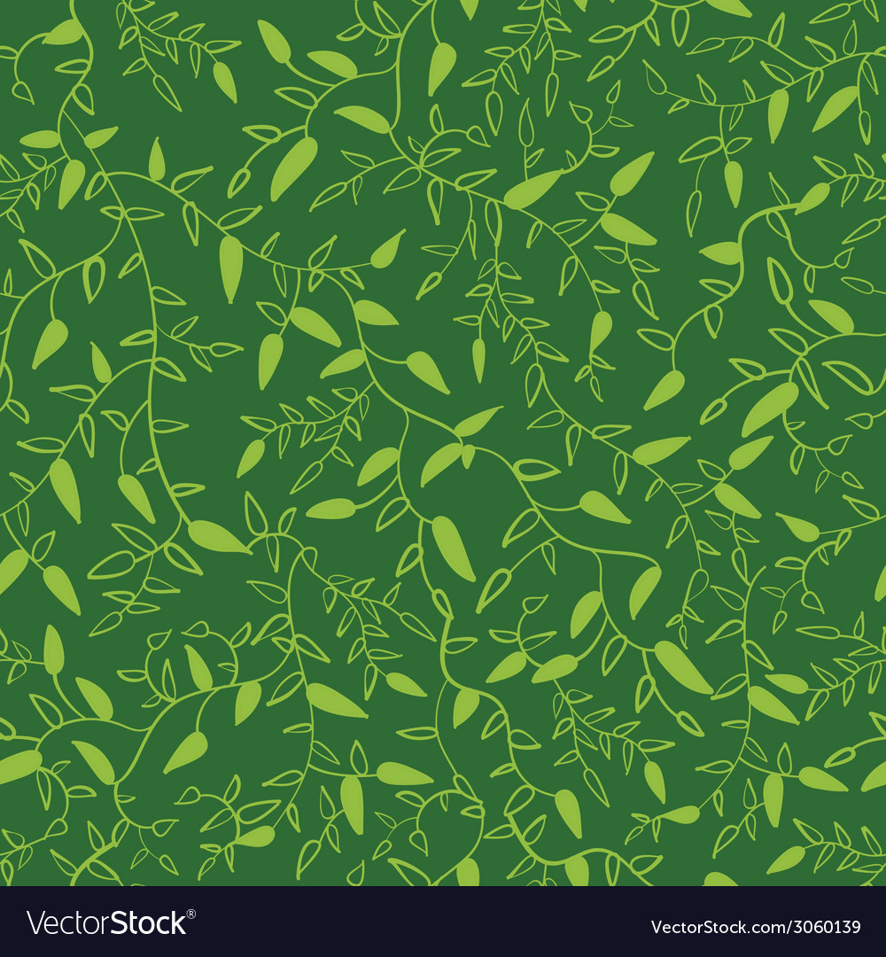 Floral seamless pattern with leaves vector | Price: 1 Credit (USD $1)