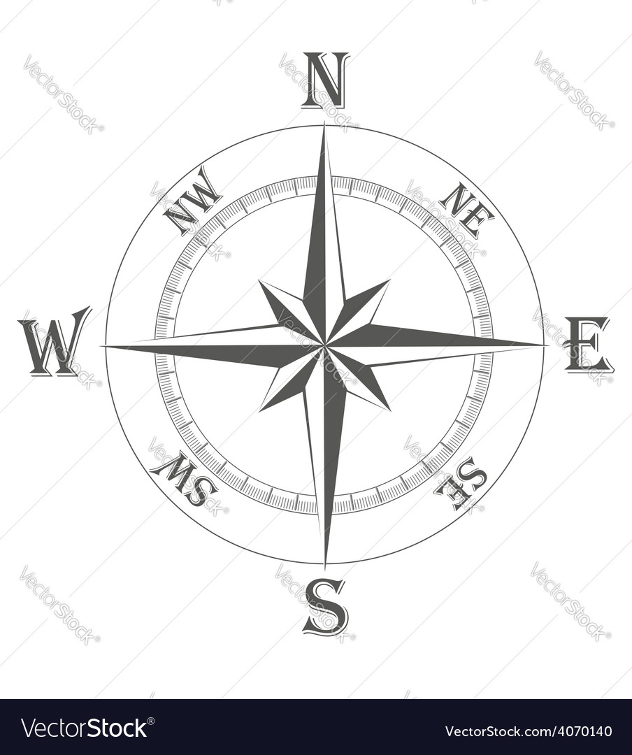 Ancient wind rose 01 vector | Price: 1 Credit (USD $1)
