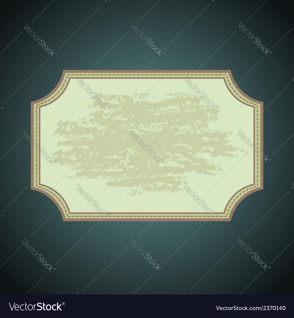 Background frame vector | Price: 1 Credit (USD $1)