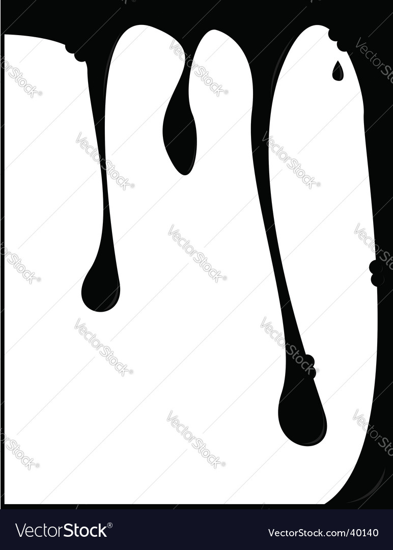 Dripping background vector | Price: 1 Credit (USD $1)