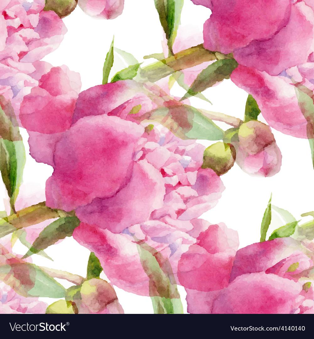 Pink peony vector | Price: 1 Credit (USD $1)