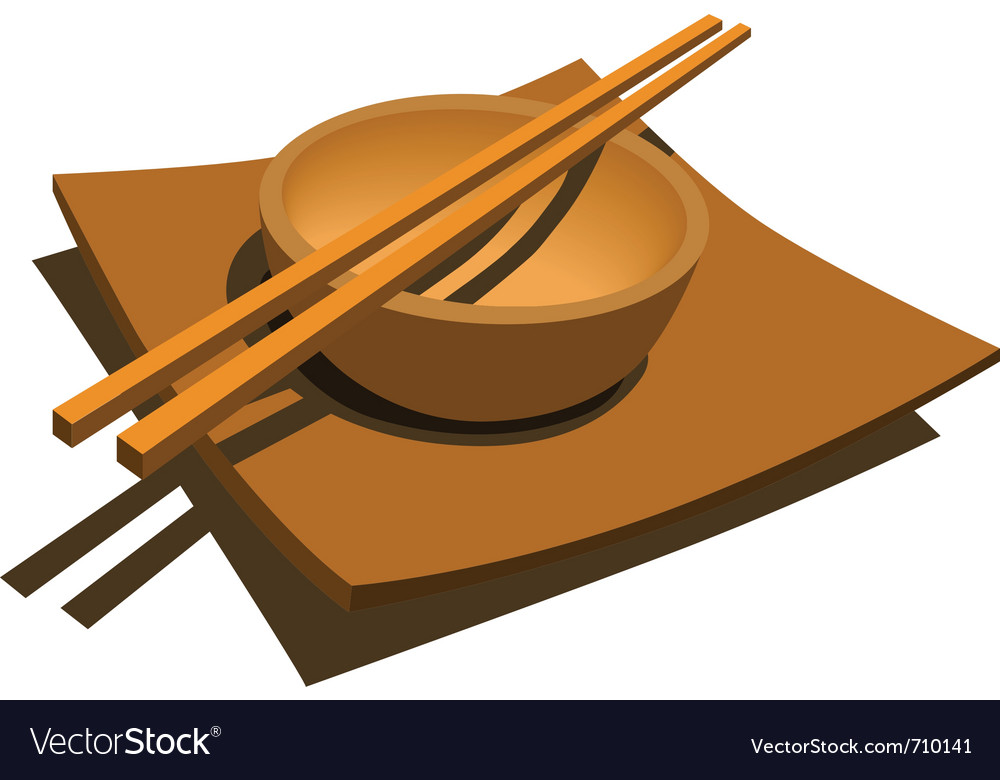 Japanese style dining set vector | Price: 1 Credit (USD $1)