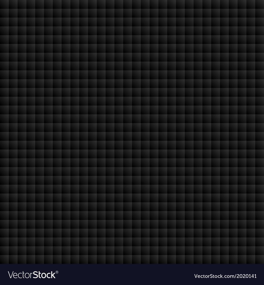 Seamless black tiles texture vector | Price: 1 Credit (USD $1)