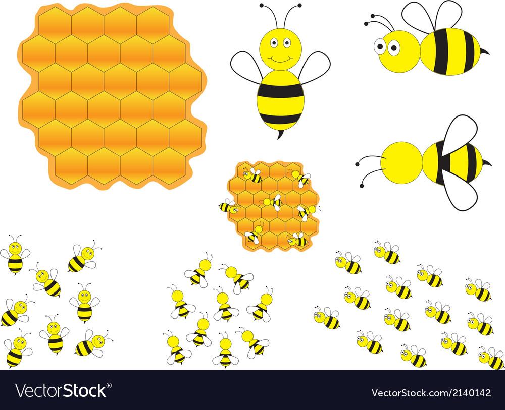 Bumblebees vector | Price: 1 Credit (USD $1)