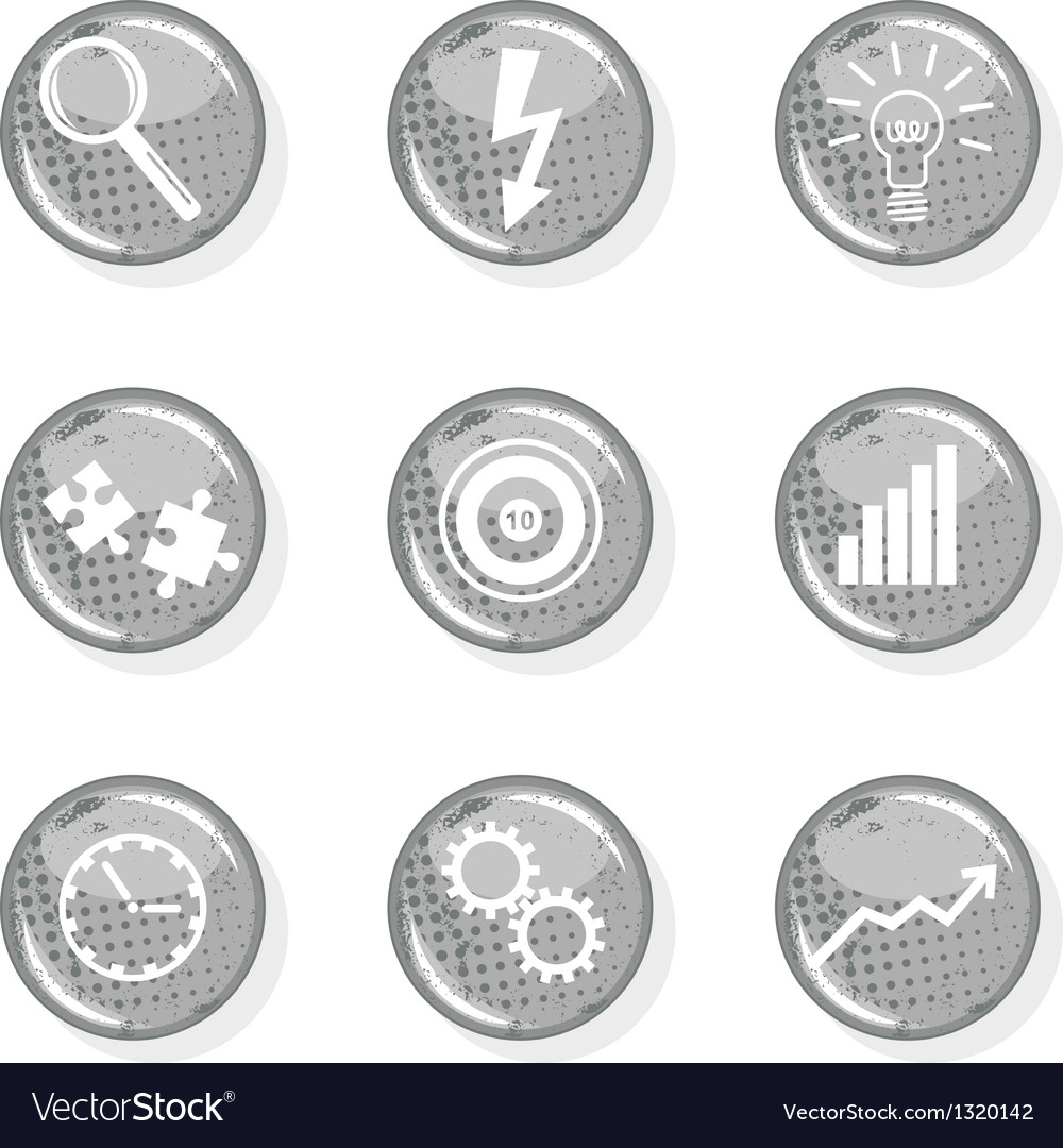Business growth icon vector | Price: 1 Credit (USD $1)