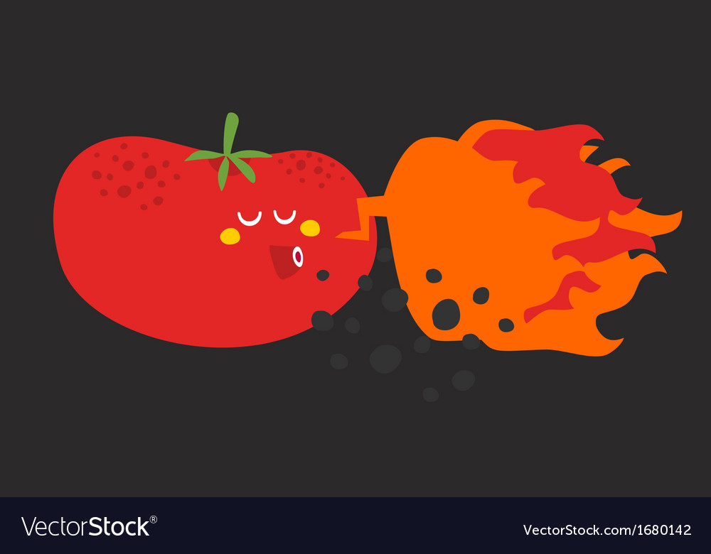 Crazy vegetable vector | Price: 1 Credit (USD $1)