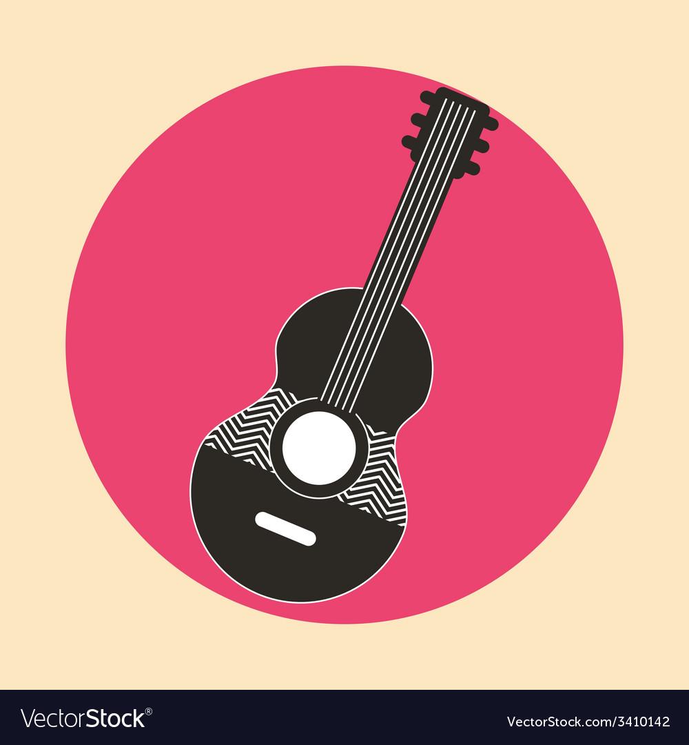 Guitar design vector   Price: 1 Credit (USD $1)