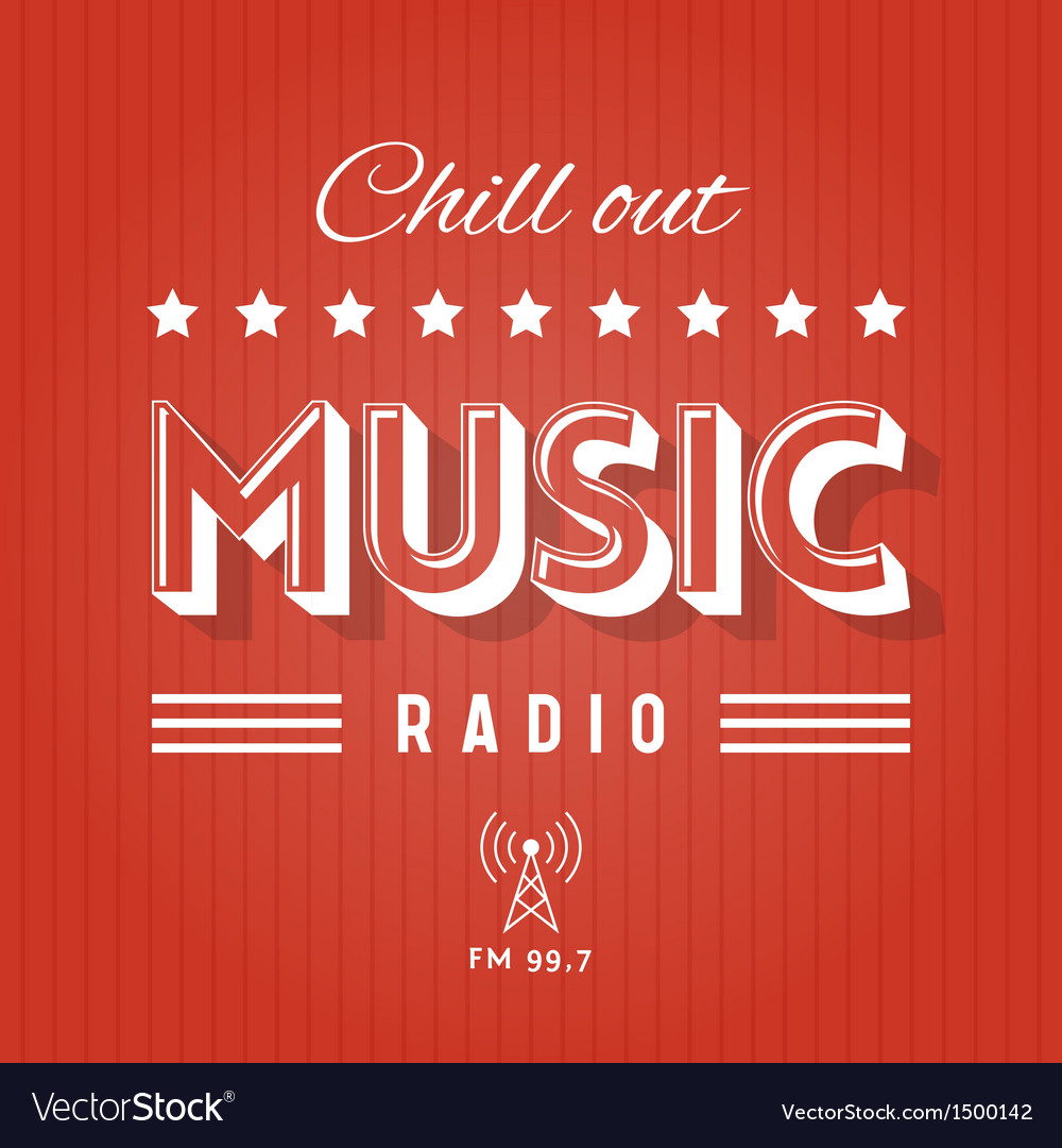 Music radio vs vector | Price: 1 Credit (USD $1)