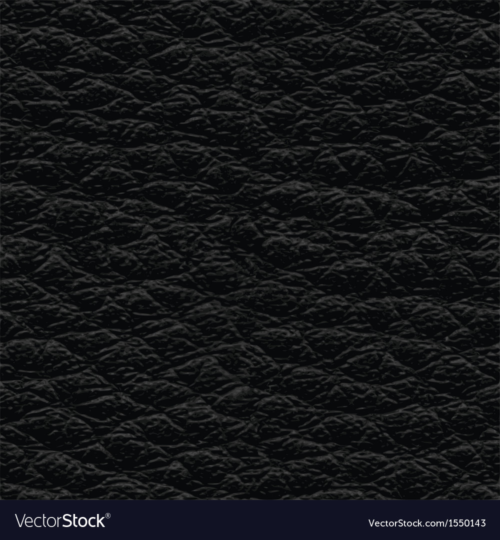 Black leather seamless texture vector | Price: 1 Credit (USD $1)
