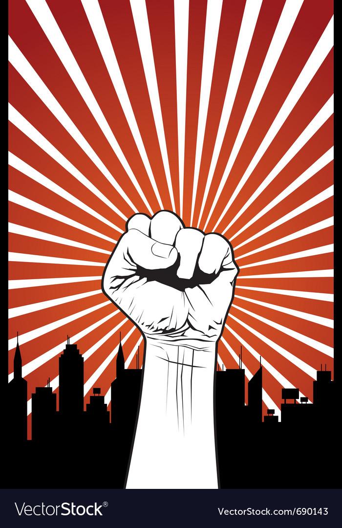 Power fist vector | Price: 1 Credit (USD $1)