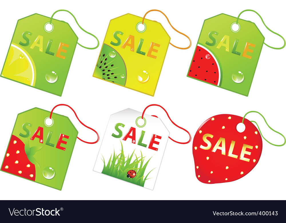 Retail sale labels vector | Price: 1 Credit (USD $1)