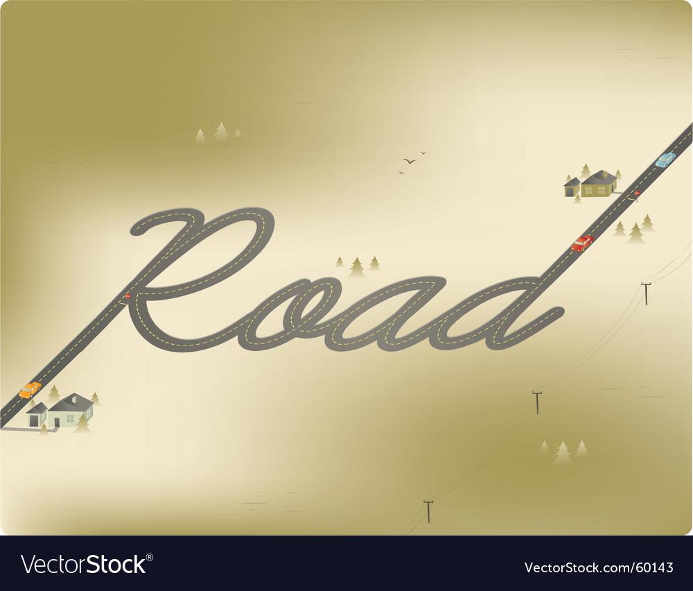 Road vector | Price: 1 Credit (USD $1)