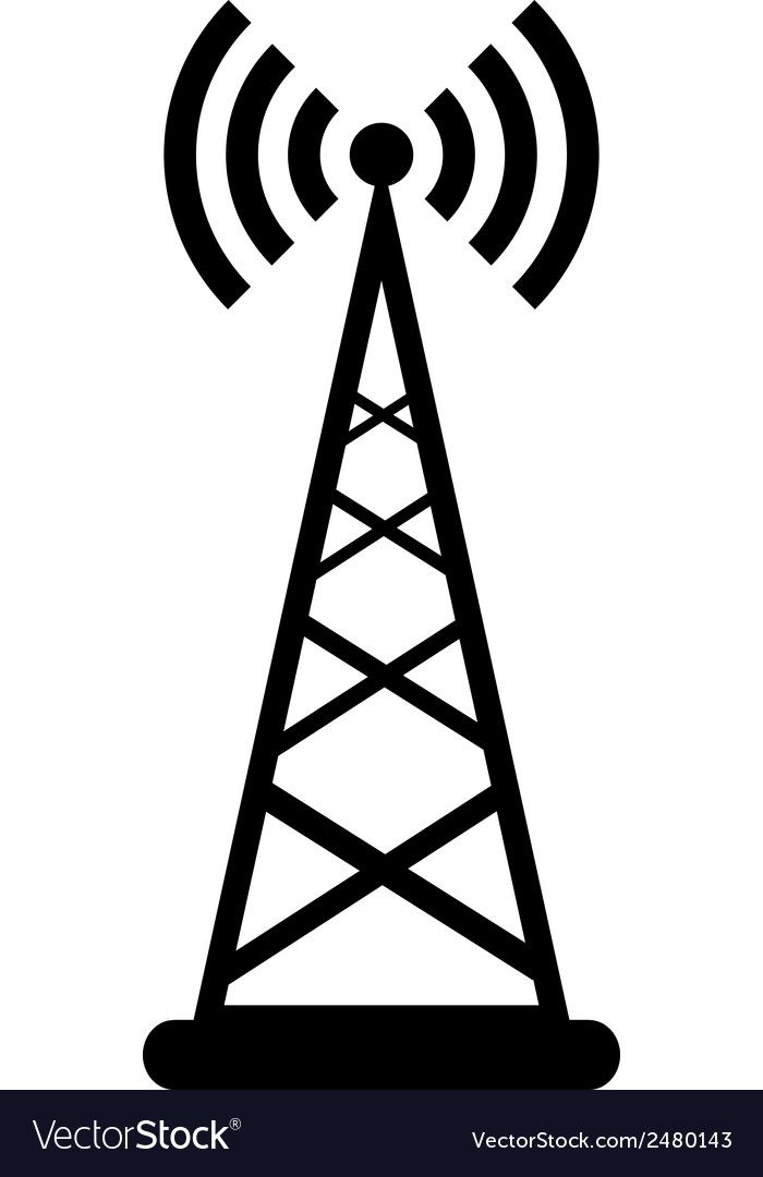 Transmitter icon vector | Price: 1 Credit (USD $1)
