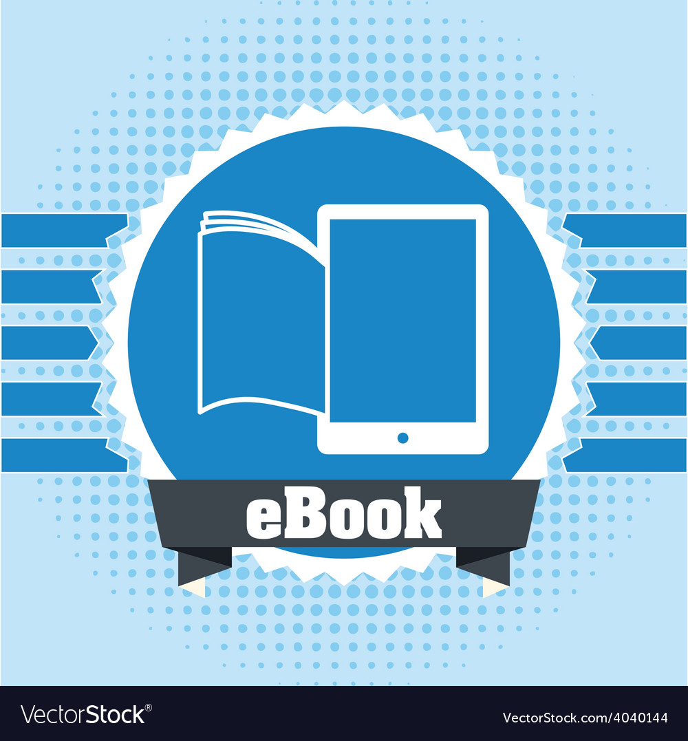 Ebook icon vector | Price: 1 Credit (USD $1)