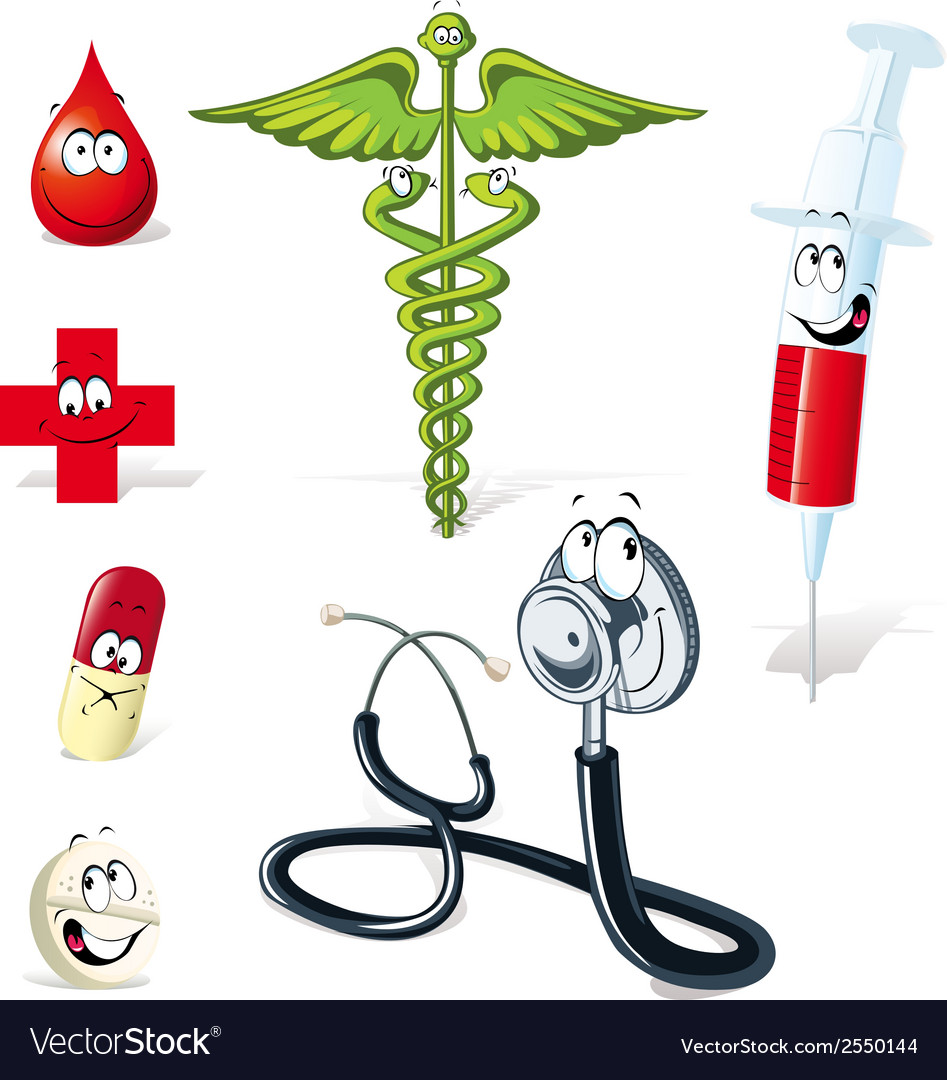 Medical symbols vector | Price: 1 Credit (USD $1)
