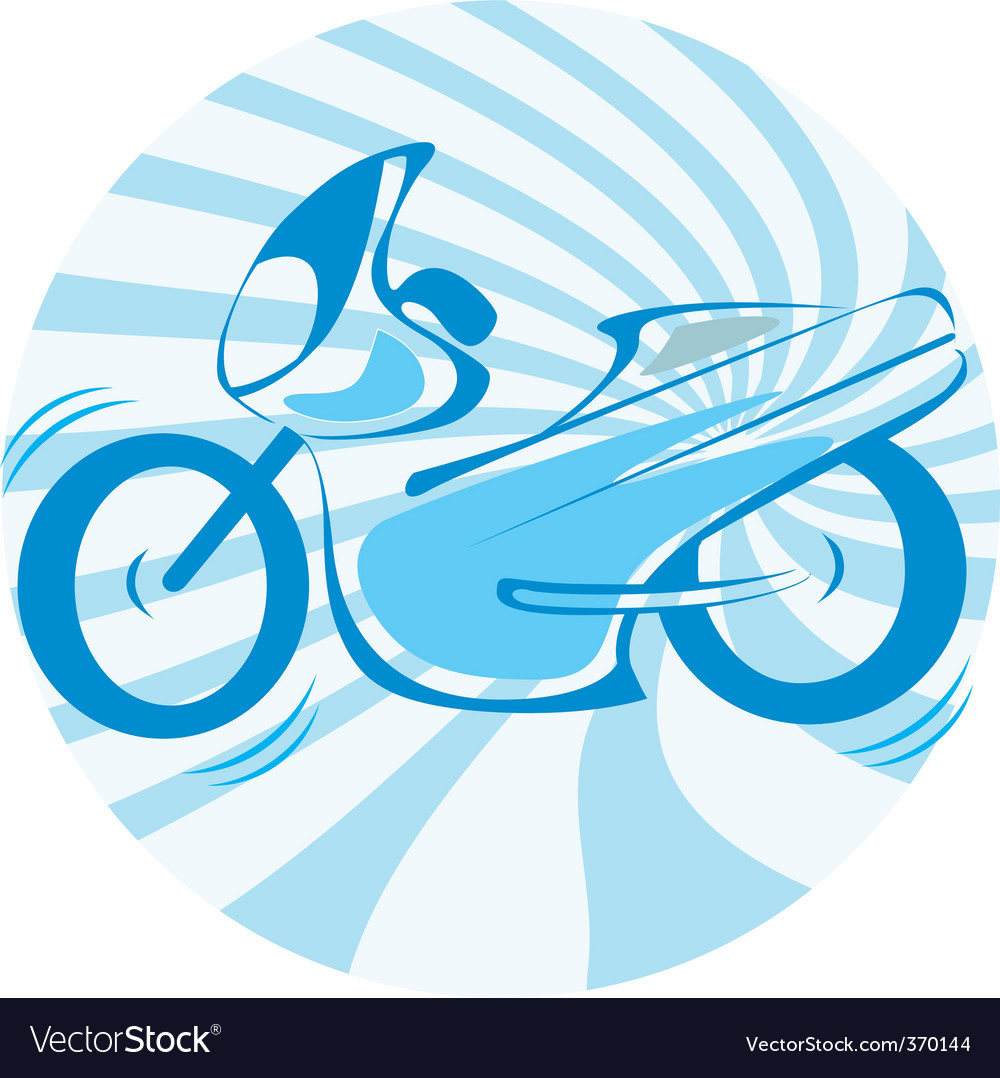 Motor bike vector | Price: 1 Credit (USD $1)