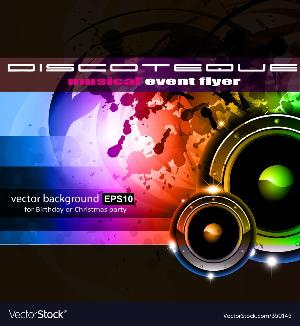 Disco vector | Price: 3 Credit (USD $3)