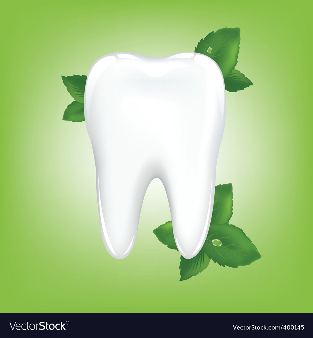Tooth background vector | Price: 1 Credit (USD $1)