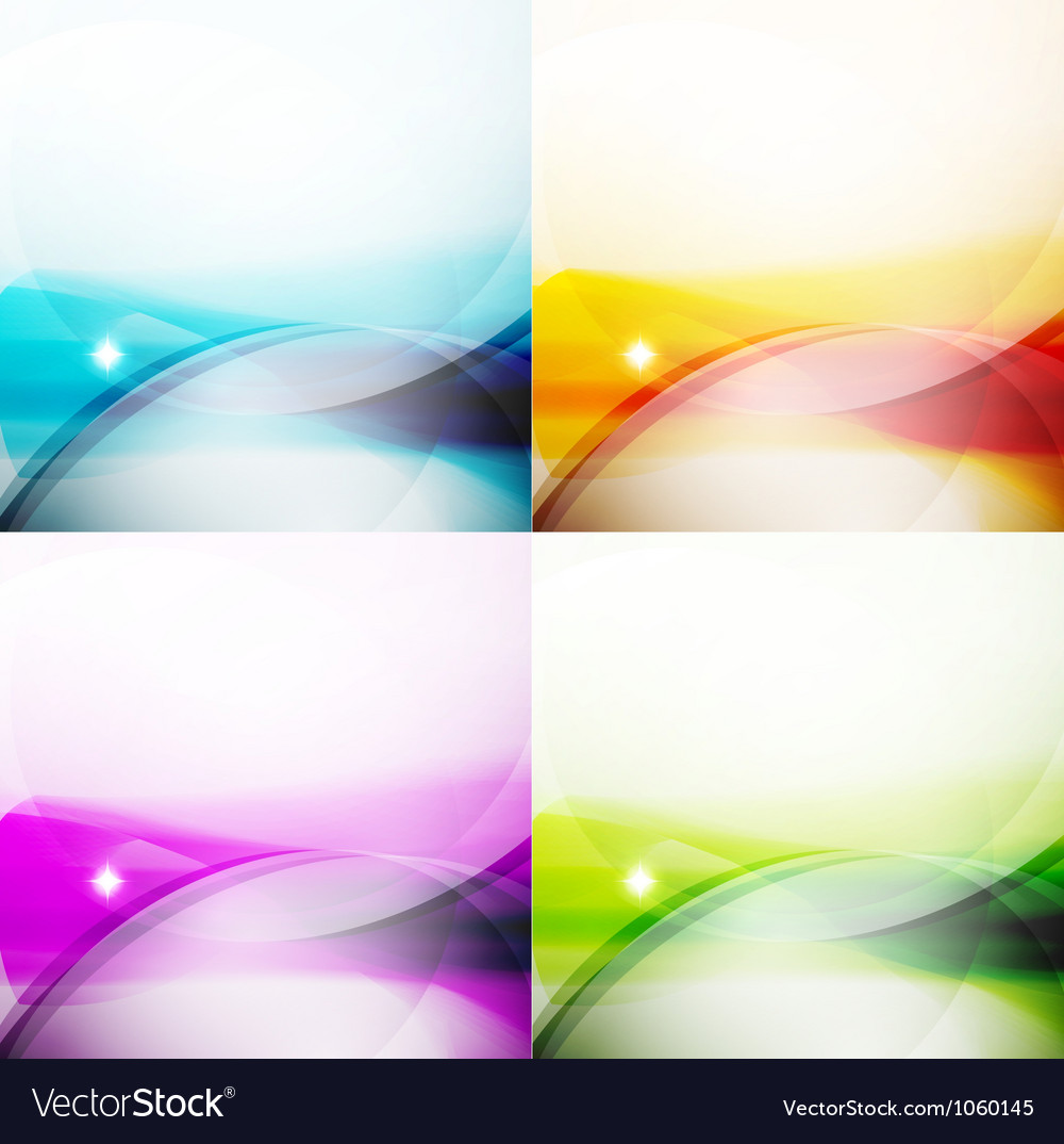 Wave color backgrounds vector | Price: 1 Credit (USD $1)