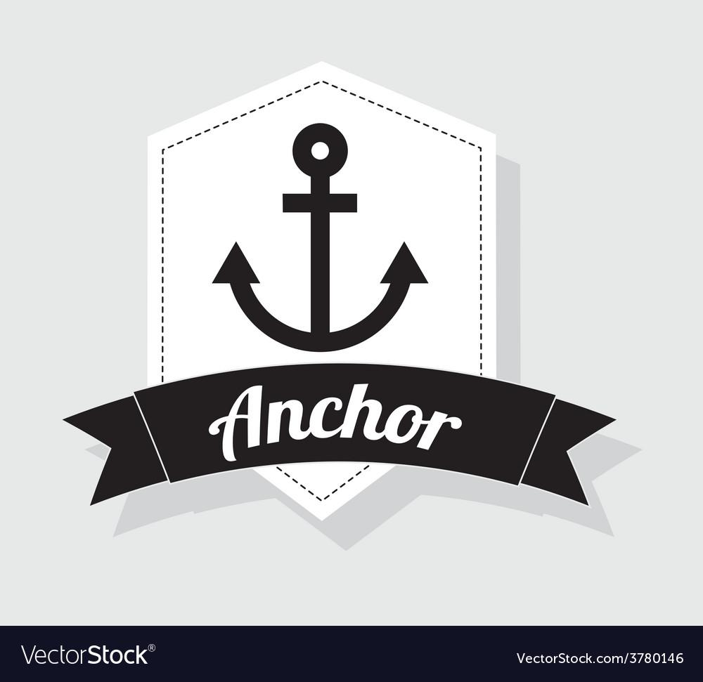 Anchor icon vector | Price: 1 Credit (USD $1)