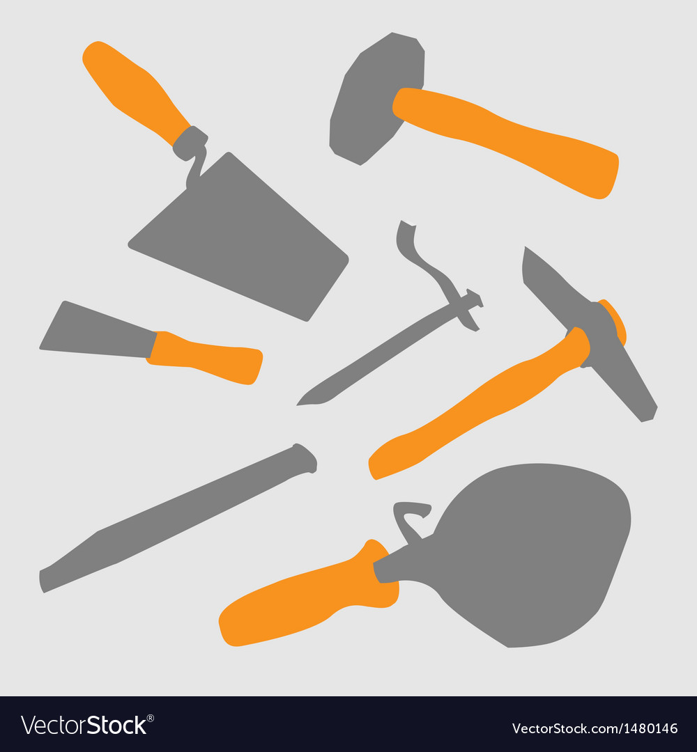 Masons tool vector | Price: 1 Credit (USD $1)